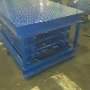 Стационарный подъемный стол ножничного типа модель Gidrolast 1X1000.500.200.600