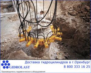 Изготовление гидравлических цилиндров на заказ для предприятий Оренбурга