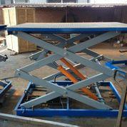 Подъемные столы трехножничного типа с гидравлическим механизмом